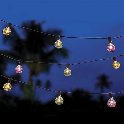 Buy Multi Colored Threaded Ball String Lights From Bed Buy String Lights