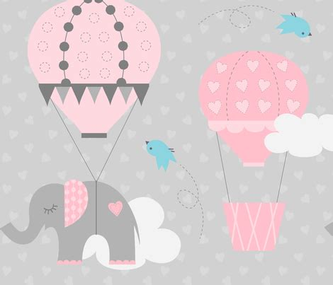 hot shower lower heart rate hot air balloon elephant fabric jenniferfranklin