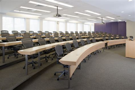 Hall Room Design Northwestern University Allen Center Lecture Room