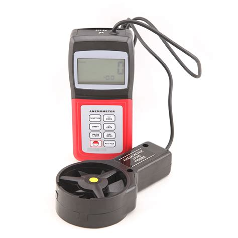Anemometer Wind Speed Monitor anemometer with air volume wind speed meter portable