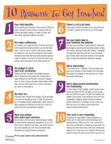 10 reasons to get involved flyer free download hand out
