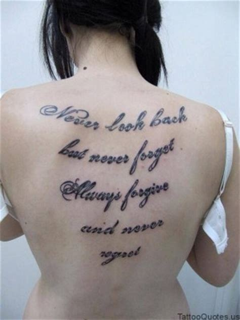 tattoo meaning never look back quotes about never looking back quotesgram
