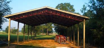 pole barn truss systems gable lean to and gambrel trusses