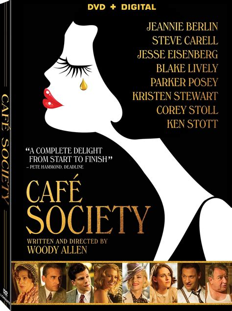 cafe dvd cafe society dvd release date october 18 2016