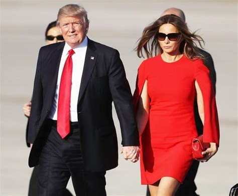 Jo In Dress Suit M Intl melania and donald reunite for mar a lago weekend