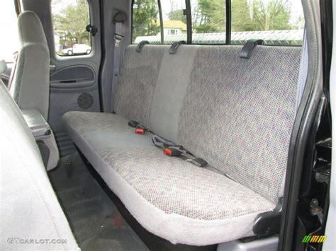 dodge ram bench seat 2001 dodge ram 1500 slt club cab 4x4 rear seat photo