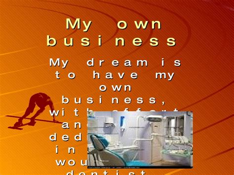 my own l my own business