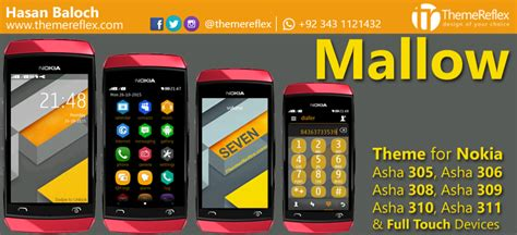 themes reflex nokia c2 02 mallow theme for nokia x2 00 x2 02 x3 00 c2 01 206