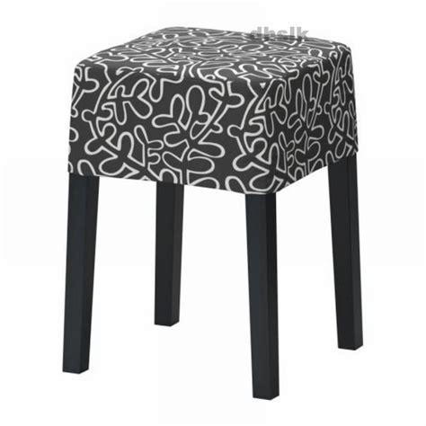 ikea nils stuhl ikea nils footstool slipcover cover eslov black white