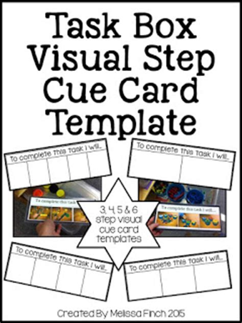 make your own cue cards workbasket wednesday link up the autism adventures of