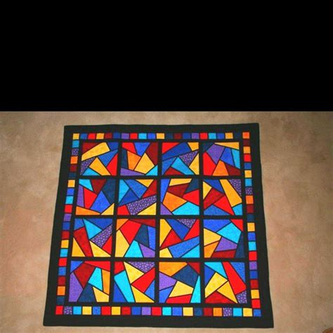 Stained Glass Quilting by Stained Glass Quilt Quilts