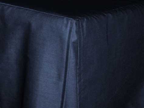navy blue bed skirt navy blue tailored bedskirt for cribs and daybeds and