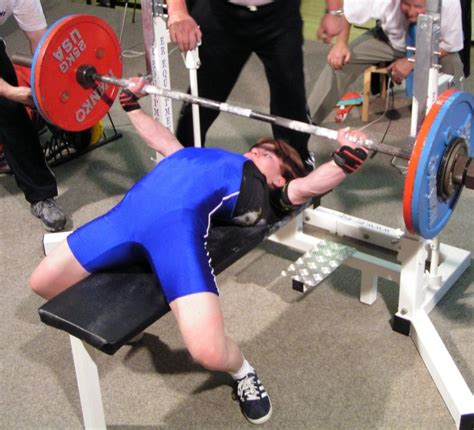 olympic record bench press spotlight on powerlifting