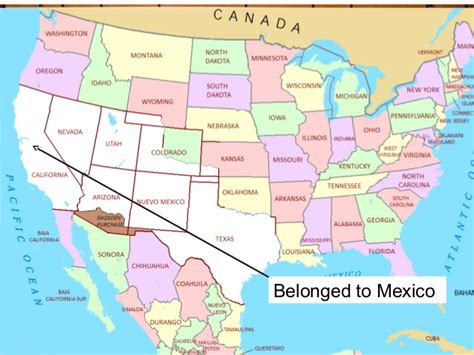 map of us states that belonged to mexico 10 common misconceptions about the language