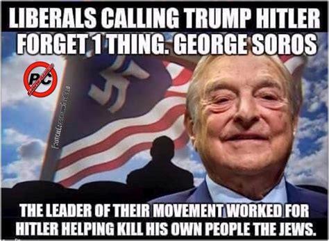 Obama Hitler Meme - george soros the real fascist notmypresident anti