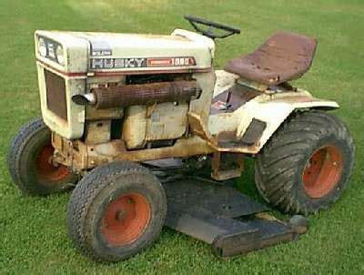 Toro Garden Tractor by Bolens Husky 1886 1971 72