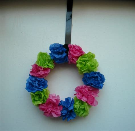 Tissue Paper Flower Crafts - tissue paper crafts for adults paper crafts ideas for