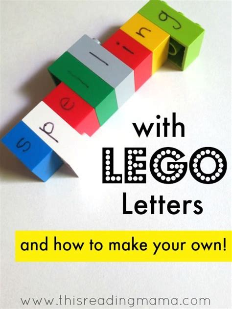 25 best ideas about lego letters on pinterest lego