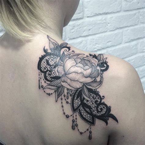 lace tattoo design 60 best lace designs meanings and stunning