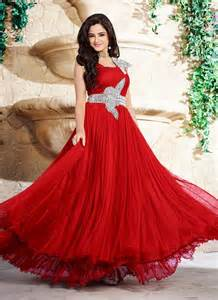 Red Crystal Chandelier Earrings Must Check 13 Types Of Wedding Gown Trends Looksgud In