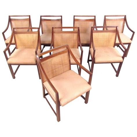 Century Furniture Dining Chairs Set Of Mid Century Modern Back Dining Chairs For Sale At 1stdibs