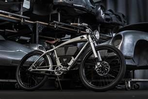 Porsche Bike Vintage Porsche Meet Electric Bicycle The Outlaw Tracker
