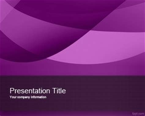Down Lines Violet Powerpoint Template Powerpoint Templates Free Violet