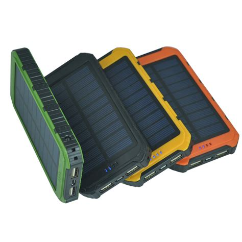 Power Bank Solar 98000mah newly launched portable solar panel charger mobile phone