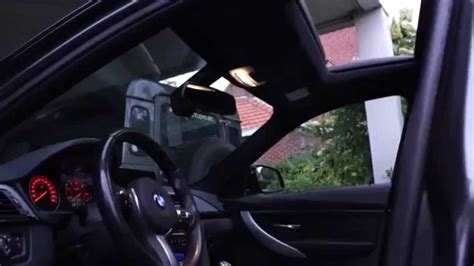 lighting package bmw 328i bmw 3 series f30 f31 light package youtube