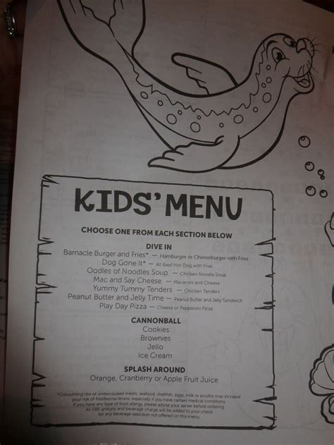 norwegian cruise kids norwegian cruise kids menu cruise with gambee