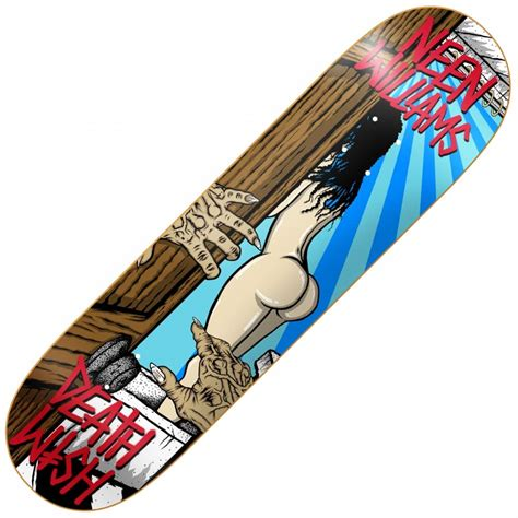 deck skateboard deathwish skateboards neen williams creeper 2 skateboard