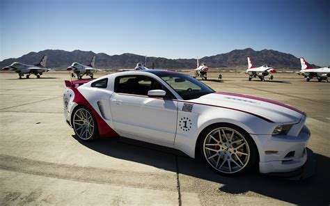 2014 ford mustang gt us air thunderbirds edition 2