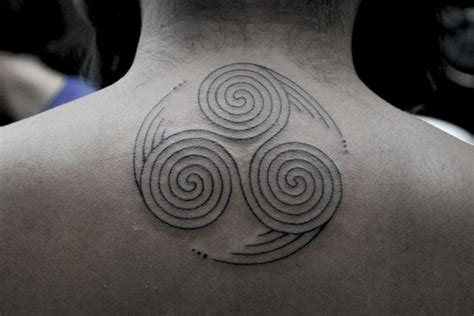 triple spiral tattoo 60 most popular spiral tattoos golfian