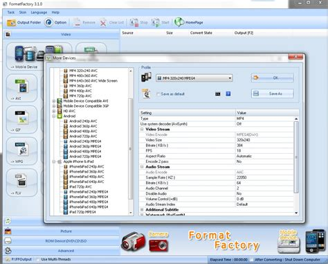 format factory windows xp 32 bit format factory скачать бесплатно на русском для windows