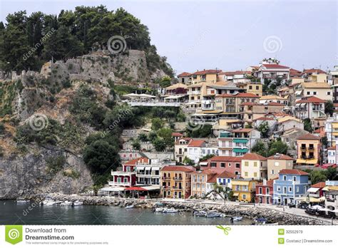 Building Plans Homes Free parga city greece royalty free stock images image 32552979