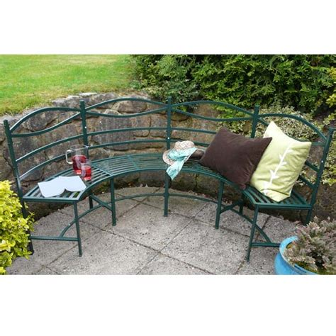 semi circular garden bench ornate semi circular garden bench 28 images ornate
