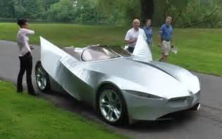 bmw concept car made of fabric