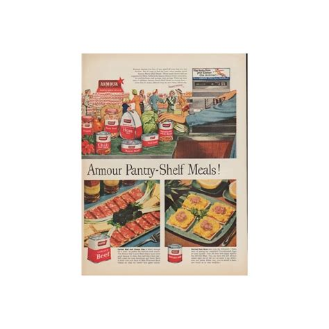 food heat ls commercial 1952 armour meat vintage ad quot beat the heat quot
