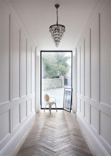 wood paneling ideas hall modern with glass iron railing best 25 white wall paneling ideas on pinterest bathroom