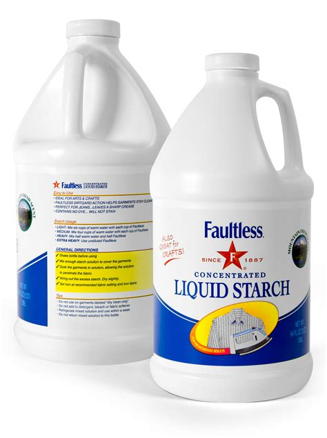 How To Make Liquid Starch For Paper Mache - faultless 174 liquid starch for crafts clothes