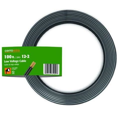4 wire low voltage cable cerrowire 100 ft 12 2 conductor low voltage