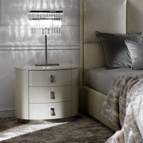 how high should a bedside table be high gloss oval bedside table juliettes interiors