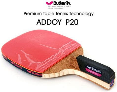 Bad Pingpong Butterfly Addoy 2000 new butterfly addoy p20 table tennis racket penholder paddle ping pong racket