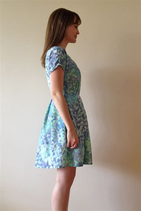 dress pattern voile summery voile zeena dress by fiona project sewing