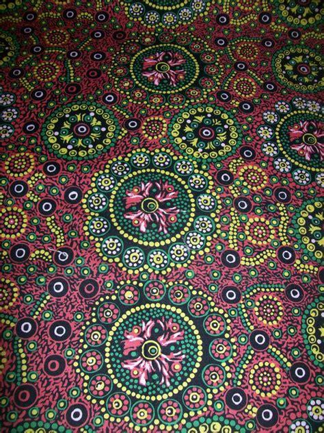 home decor fabric australia per yard aboriginal fabric 100 cotton wild desert