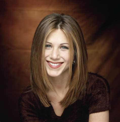 jennifer aniston s hair from the rachel to her