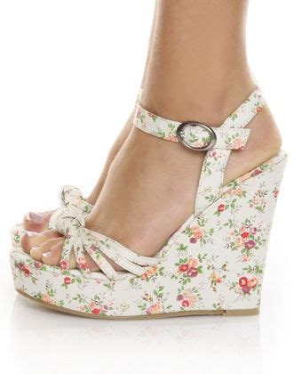 Wedges Floral best 25 wedges shoes ideas on wedges