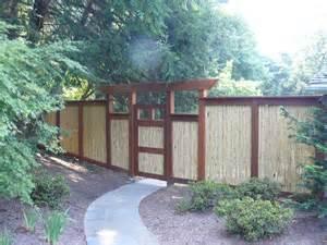 asian inspired fence asian landscape philadelphia
