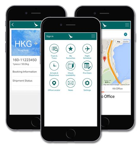 cargo mobili cathay pacific launches new mobile app for cargo customers