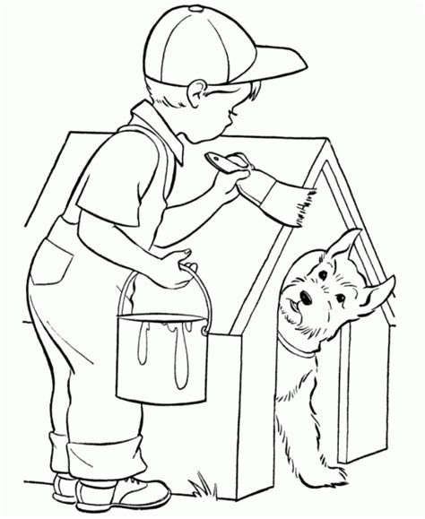 painting and coloring house coloring pages coloring home